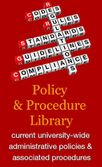 Policy and Procedure Library